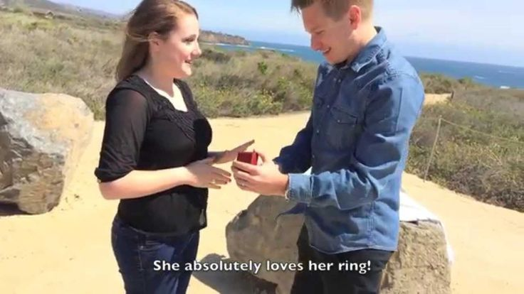 Logan and Kate's engagement video. So sweet and a must watch.  #engagement #proposal #cute #love #wedding #engagementvideo #crystalcove #engaged #california #lagunabeach #ldr #longdistancerelationship