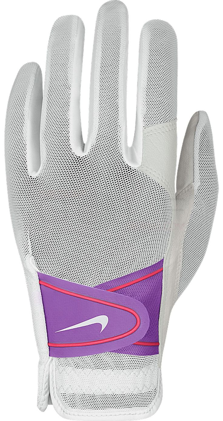 Nike Women's Summer Lite II Golf Glove Genuine Leather, Superior Fit, Enhanced Feel Gloves Equipment - $11.19