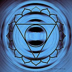 Chakras Art - Blue Chakra Throat by Taylor Steffen SCOTT
