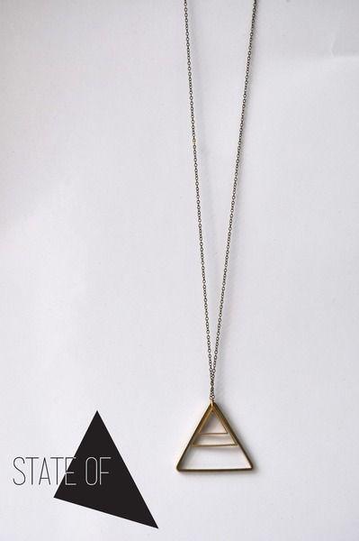 Geometric+Kette+Dreiecke+Geometrie+Dreieck+von+State+of+A+auf+DaWanda.com