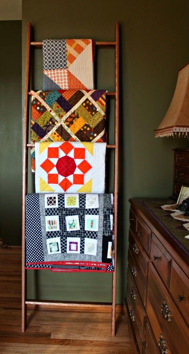 Mejores 59 imágenes de Decorating with Quilts en Pinterest ...