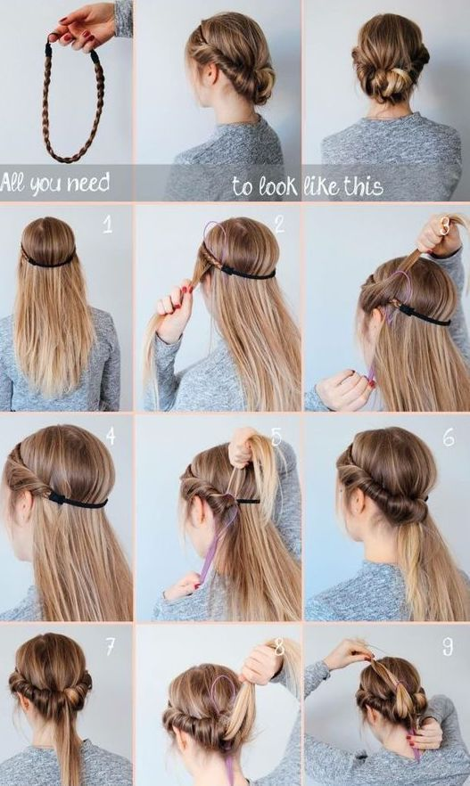 Hair styling; Curly hairstyle; Long hairstyle; Short hairstyle; Temperament H … – Curly Hairstyles Trends – #Hairstyle #Hairstyles #Hair #Short #Long