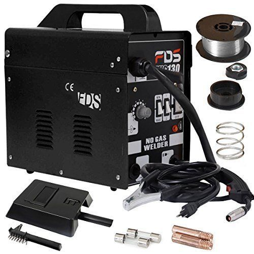 Black 110 VAC MIG Welder Automatic Feed Welding Machine with Free Mask #KandN
