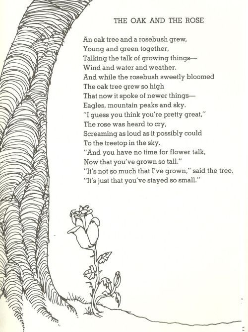 shel silverstein poems about beauty - Google Search