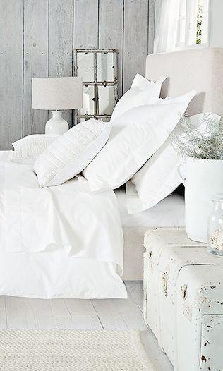 Frisse witte #slaapkamer