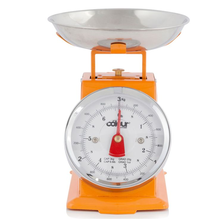 Buy Cook In Colour 3kg Mini Traditional Kitchen Scales - Orange here at The Hut. We've a got top products at great prices including fashion, homeware and lifestyle products. Free delivery available