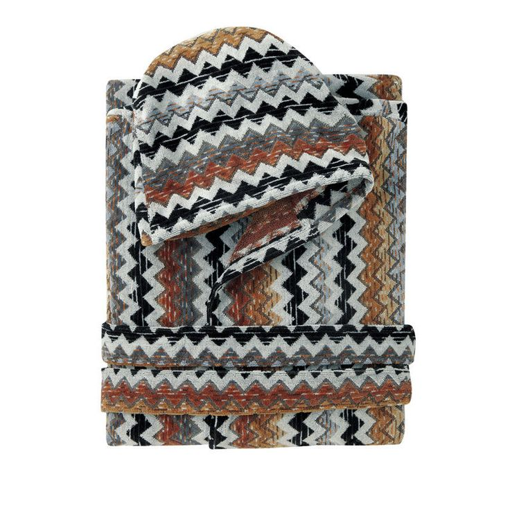 top3 by design - Missoni Home - paul hooded robe 160 - M