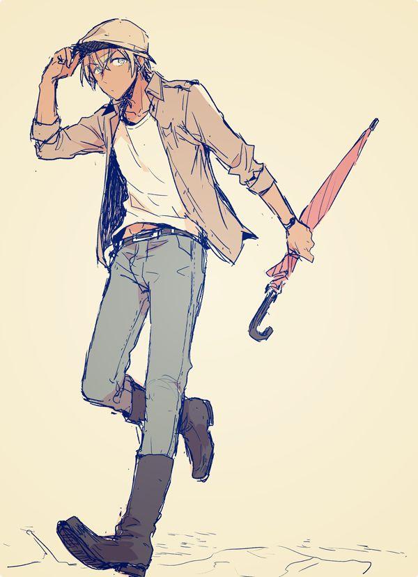 #Conan #bourbon Amuro Tooru