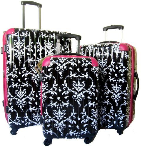 Damask Hard Case Luggage Set 3pcs 360° Rotation Wheels Very Light beensi2000 http://www.amazon.com/dp/B00BRMX9T4/ref=cm_sw_r_pi_dp_JCiOwb0CSVV8N