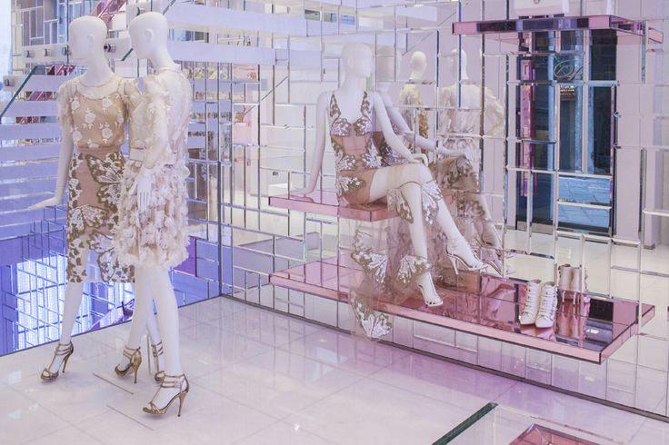 Blumarine Milan Boutique Windows - April 2014