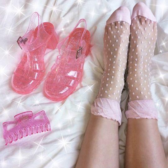 swiss dots socks #fashion #pixiemarket
