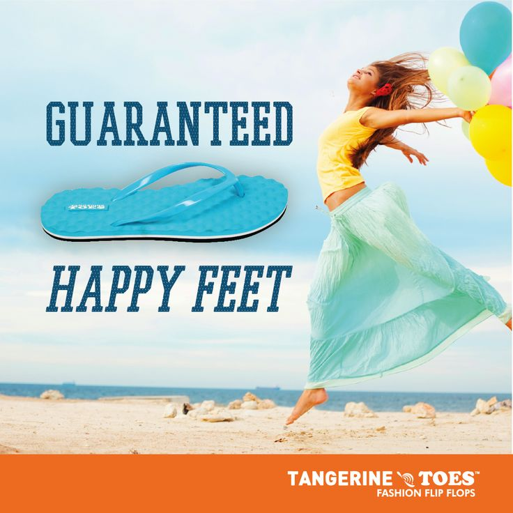 We guarantee #HappyFeet