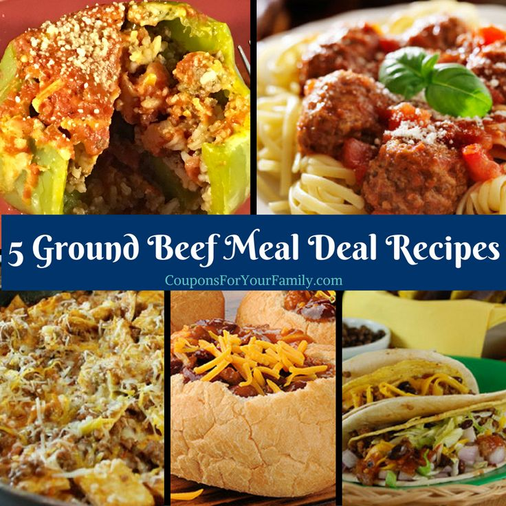 Tops: Ground Beef Meal Deal Recipe Roundup~only $3.59 lb plus 9 free items!! - http://www.couponsforyourfamily.com/tops-markets-ground-beef-meal-deal-recipe-roundup/