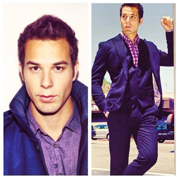 Skylar Astin.. I would touch you, I would. So ugh, just ask and I'll definitely touch you.