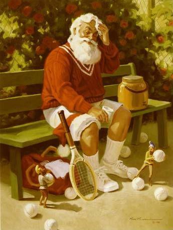 Santa Tennis