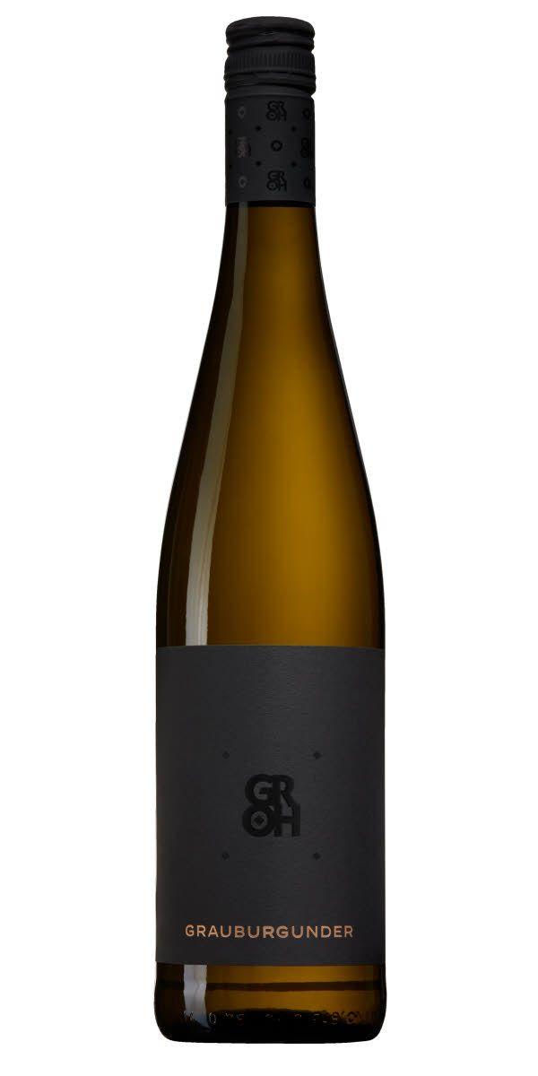 Grauburgunder, även kallad Pinot Gris, ger ofta viner med gul tropisk frukt, kryddor och en blommig ton. Detta vin passar lika bra till fisken som till det ljusa köttet eller bara som det är.