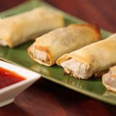 Try this Baked Vegetarian Spring Rolls recipe by Chef Justine Schofield . This recipe is from the show Everyday Gourmet.