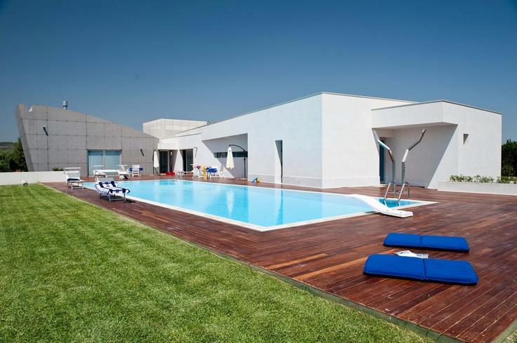 Super-de-luxe villa voor 14 personen op Sicilië.