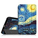 Fintie Samsung Galaxy Tab 4 7.0 Case - Ultra Slim Lightweight Smart Shell Standing Cover for Samsung Tab 4 7.0(7-Inch) Tablet (WILL NOT Fit Samsung Galaxy Tab A 7.0), Starry Night