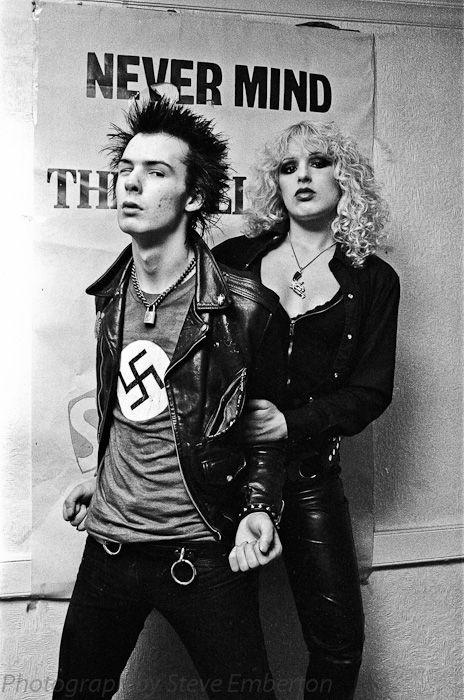 Sid Vicious and Nancy Spungen sex pistols rock, indé, dark, gothic, darkwave, batcave, indus, metal, punk