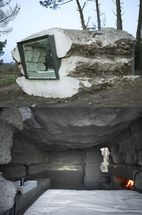 Awesome survival shelter