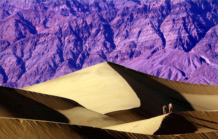 Top 10 national parks in California                            Travel   California beautiful colors in Death Valley