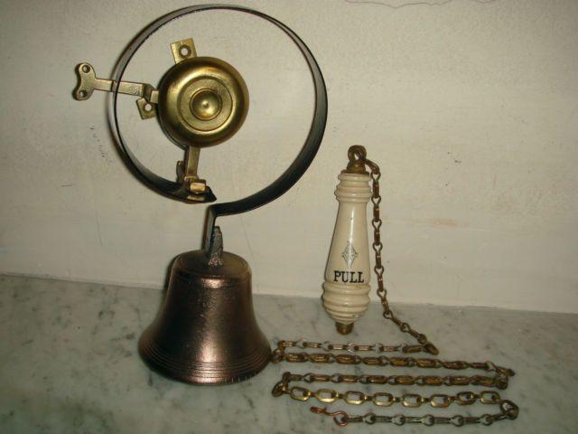 Victorian Door Bell Servants Bell Pull Chain