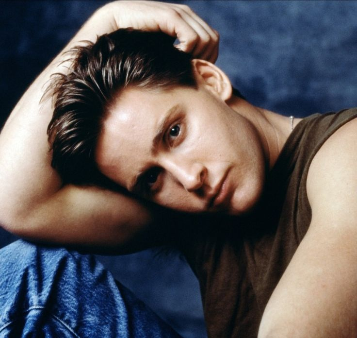 Emilio Estevez ...I remember him from Repo Man and a Stephen King movie...among others.