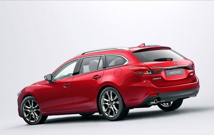 Mazda 6 Kombi Facelift (2015) Rear End