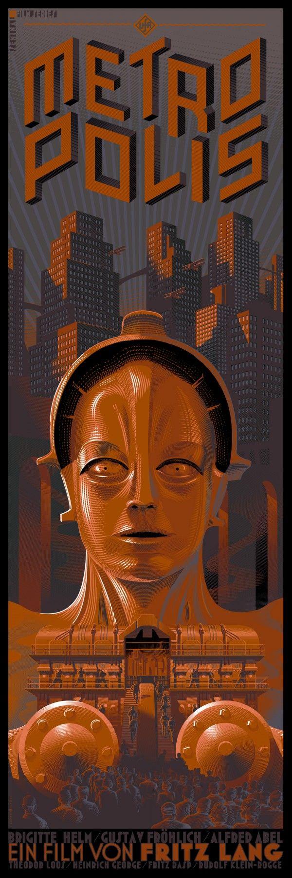 Laurent Durieux, 'Metropolis'-Alternate Edition.