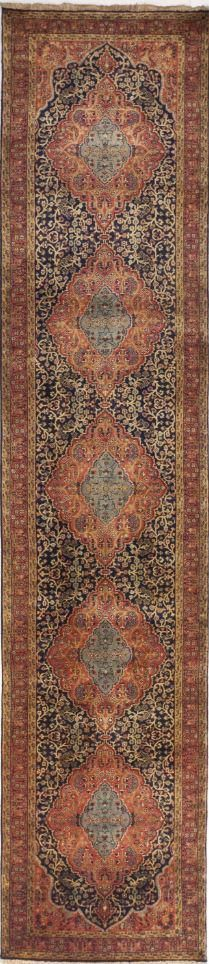 Hand Knotted Indian Runner 2 10 X 12