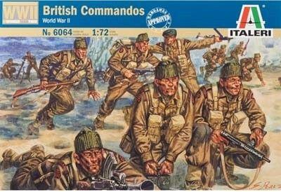 Italeri  WWII British Commandos 1 72 Scale