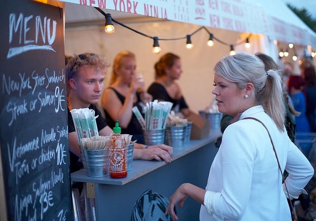 New York Ninja Restaurant at Flow Festival 2011.