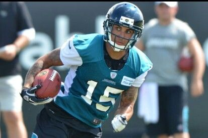 WR Taylor Price signed formerly of Jaguars. Spent most of 2013 on injured reserved list and was third round bust for Patriots in 2010. Will have to have an exceptional camp to make 53 man roster.