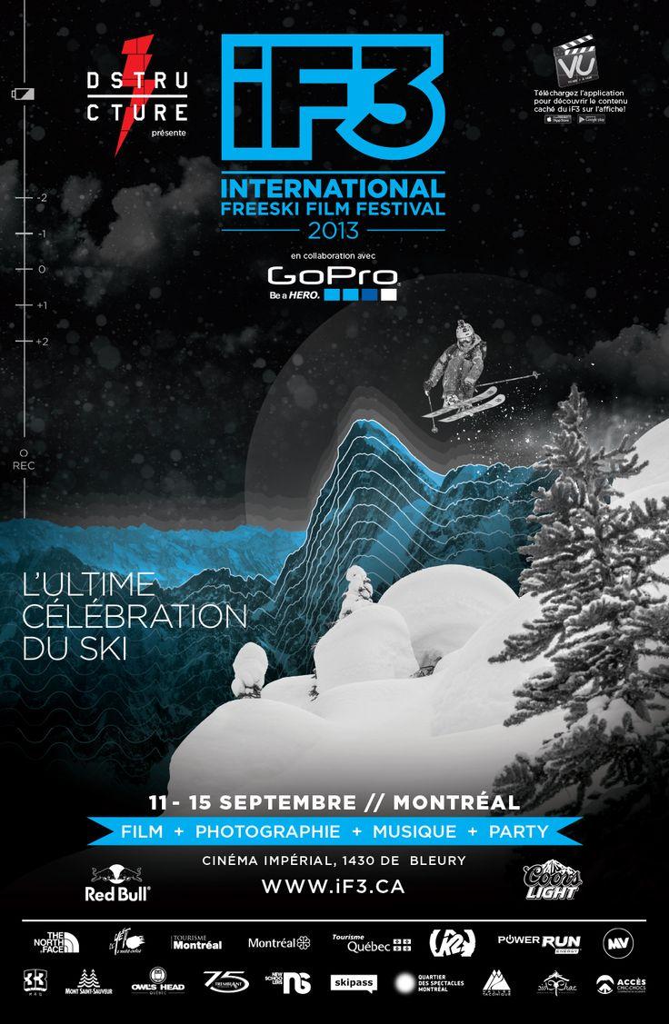 iF3 Montréal 2013 Poster !