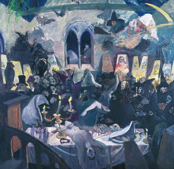 Alexander Goudie – illustration du poème Tam o'Shanter de Robert Burns –