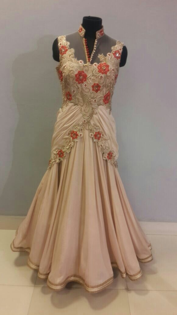 #Indian#gown#embroidery#emeraldcollection#beautiful