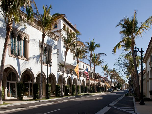 "Worth Avenue in West Palm Beach FL.  The ""Rodeo Drive"" of the east coast.  Fantastic shopping."
