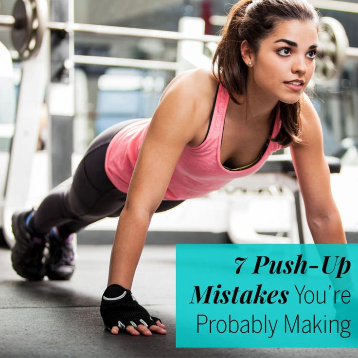 There's a lot more to push-ups than getting on all fours and moving up and down. And knowing the proper technique is important: It'll reduce your risk of injury, improve core strength, and burn more calories. Make note of these common mistakes, then visit pushupsforcharity.com to see how doing push-ups can also help veterans nationwide. - Fitnessmagazine.com