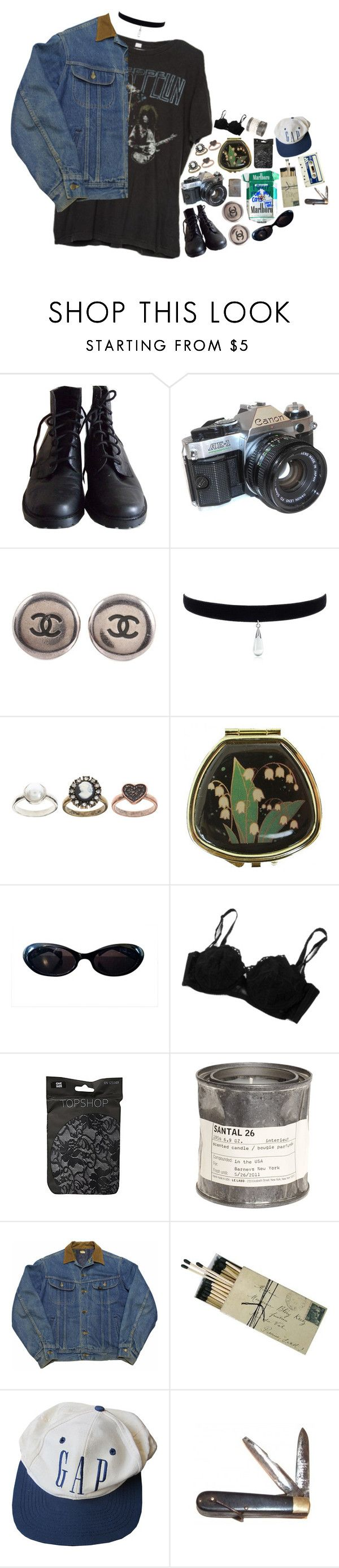 """""""Vintage Aesthetic Part 3"""" by tiffanyelinor ❤ liked on Polyvore featuring Brandy Melville, American Eagle Outfitters, Chanel, ASOS, Andrea Garland, Gucci, Topshop, Le Labo, Retrò and Zippo"""