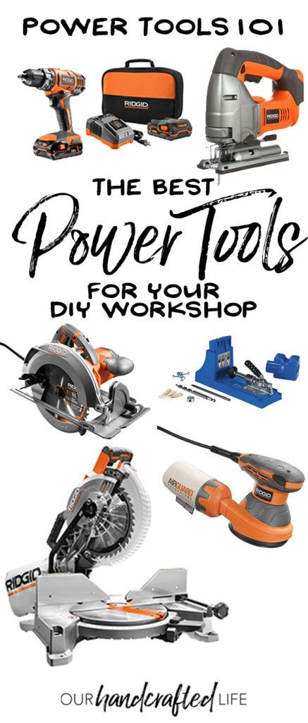 Top 5 Power Tools for Beginners