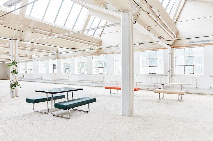 Avant bench, design: Fredrik Mattson | Styling: Katrin Bååth | Photo: Sara Landstedt