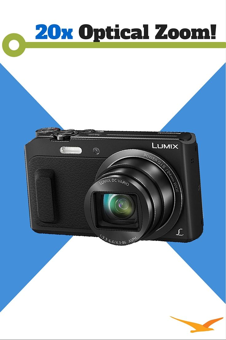 Panasonic LUMIX DMC-ZS45 Combines powerful optical zoom and a host of creative features in a small and sleek design. The DMC-ZS45's extensive connectivity options also enable you to share your photos and videos more easily than ever!