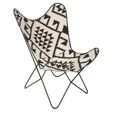 Kilim Wing Chair - Temple & Webster