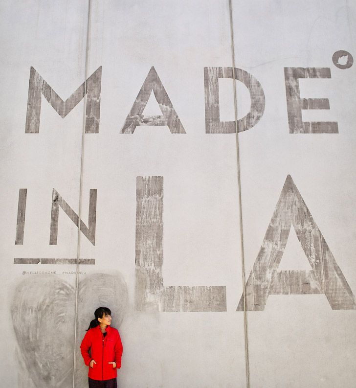 Made in LA Wall (25 Best Instagram Spots in Los Angeles) // localadventurer.com