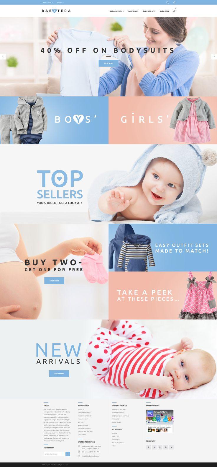 Babytera - Magento Theme - http://www.templatemonster.com/magento-themes/baby-store-responsive-magento-theme-61191.html