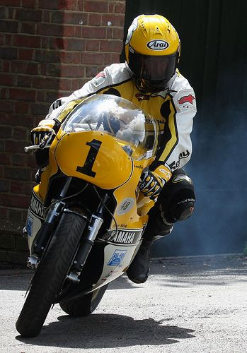 Kenny Roberts - Yamaha YZR500 (OW48R - built 1980 ) - Goodwood Festival of Speed - 2012 by -PSParrot