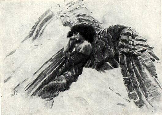 The+Flying+Demon,+1890+-+Mikhail+Vrubel