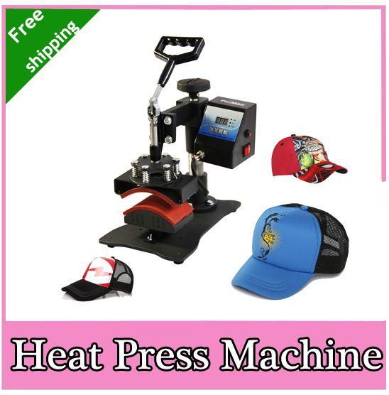 2015 new design Economic Cap Heat Press Machine, Hat Heat Transfer,Free Shipping