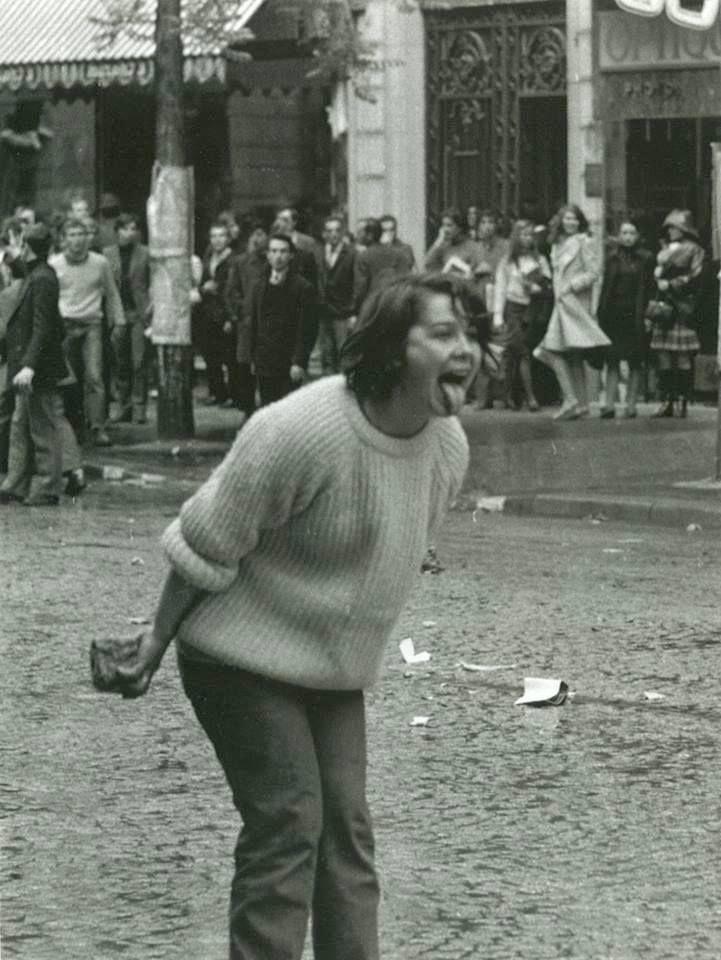 Mai 68, Paris . (We live in a political world... -i)